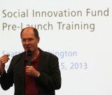 Jurgen Unutzer at the Social Innovation Project training